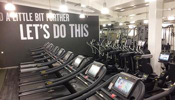 The Energise Gym York Treadmills Area