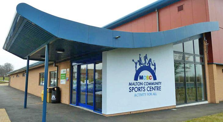 Malton Community Sports Centre Entrance