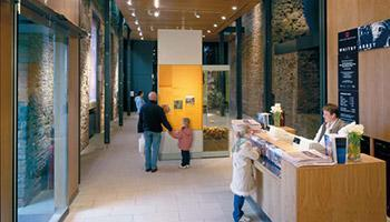 Whitby Abbey Visitors Centre Interior Entrance